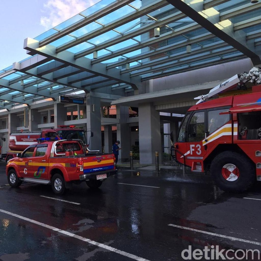 Pasca-Kebakaran Bandara Ngurah Rai Beroperasi 24 Jam