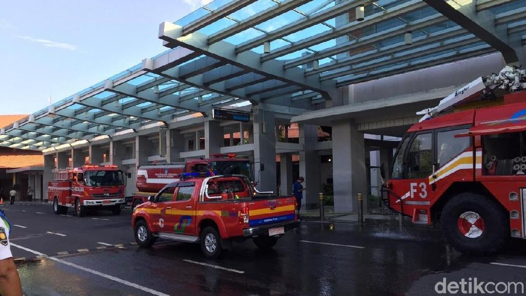 Perbaikan Terminal Bandara Ngurah Rai Ditarget Rampung 2 Minggu