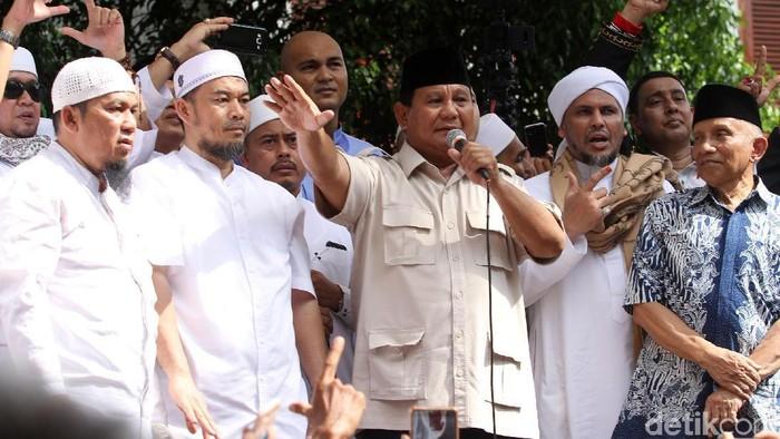 Capres Prabowo Subianto (Foto: Rifkianto Nugroho/detikcom)