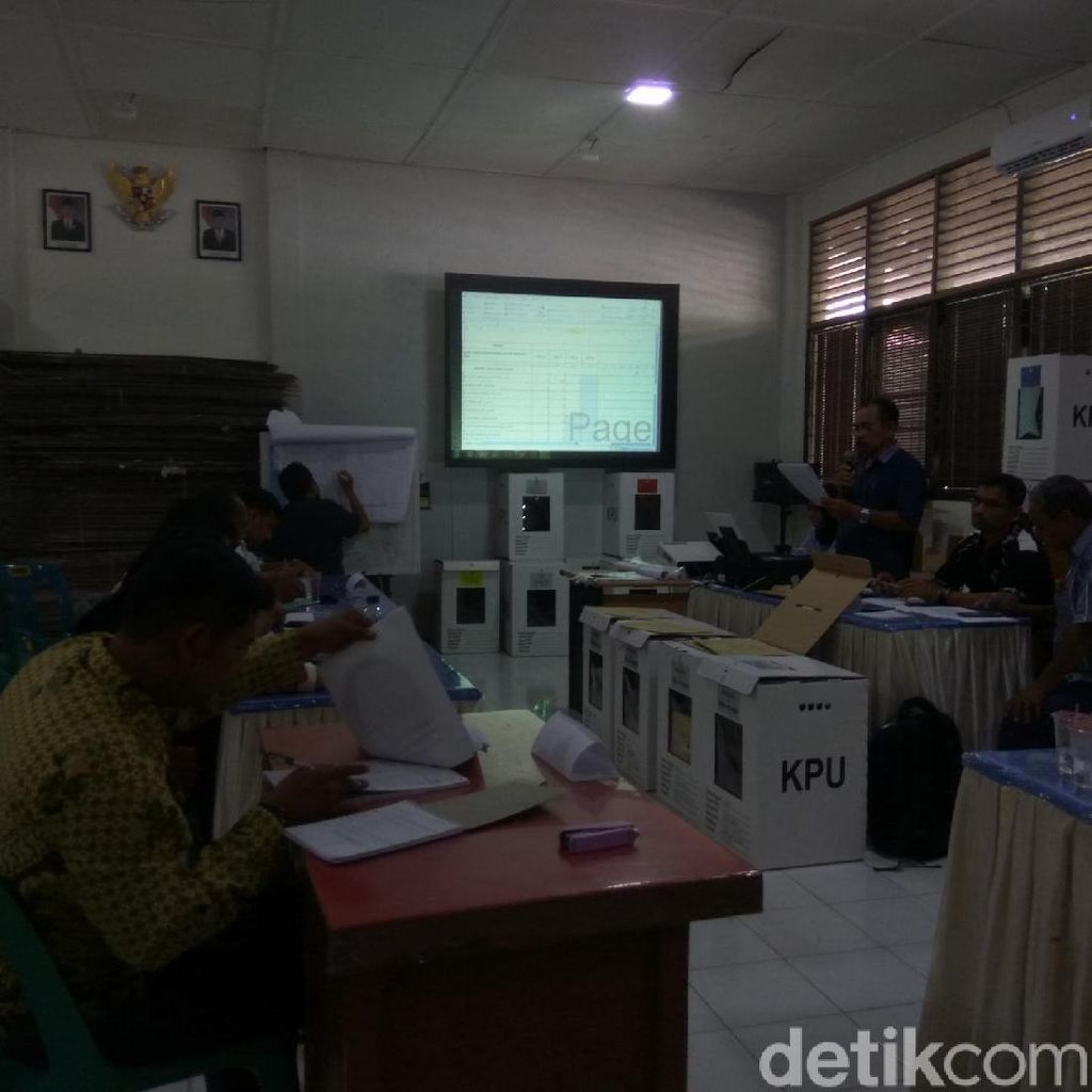 KIP Aceh Mulai Rekapitulasi Suara di Tingkat Kecamatan