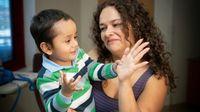 Salah satu pasien anak yang menjalani terapi SCID memanfaatkan HIV.