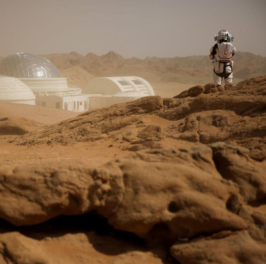 Keren! China Bangun Markas Simulasi Planet Mars di Gurun Gobi