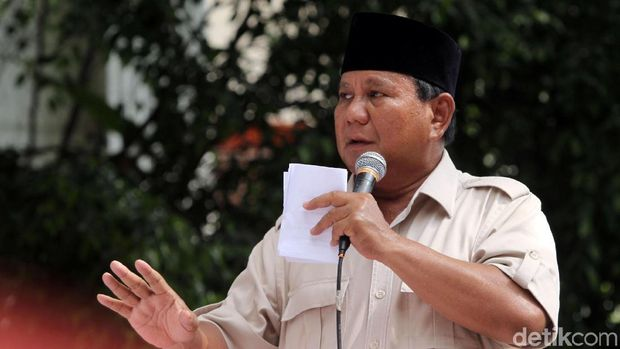 Postingan Erin Taulany dianggap menghina Prabowo