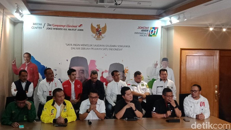 Tunggu Hitung Resmi KPU, TKN: Terima Kasih Dukung Jokowi-Amin
