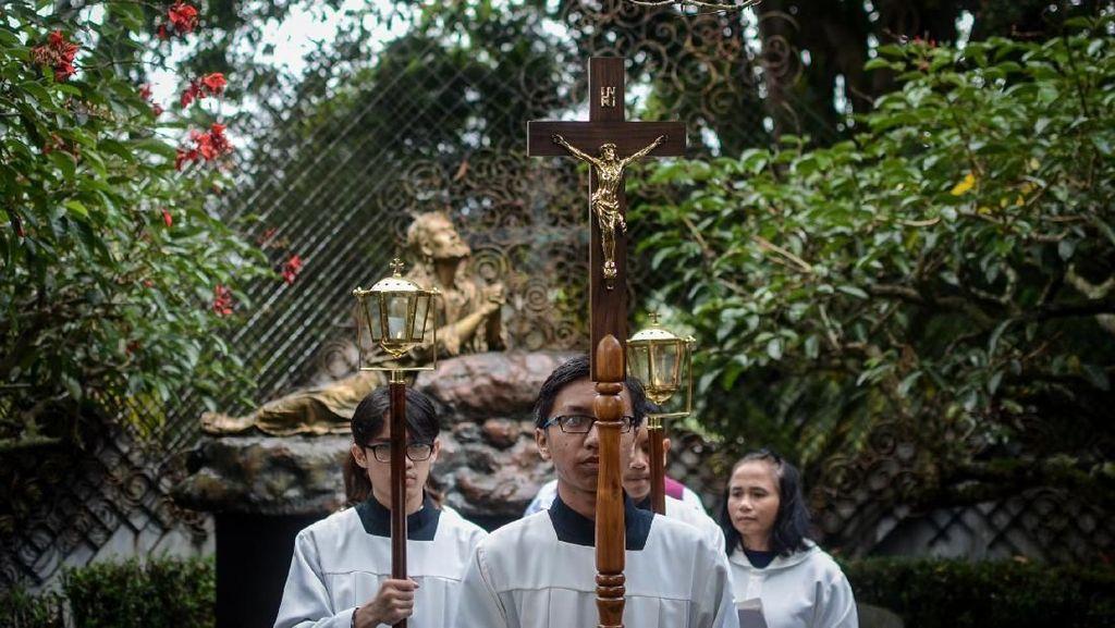 Misa Pekan Suci Paskah di Klaten Juga Digelar Online