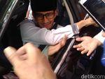 Sandi akan Cek Kesehatan, Belum Pasti Hadiri Syukuran di Rumah Prabowo