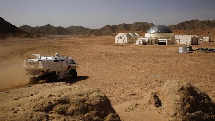 Simulasi kehidupan planet Mars. Foto: Reuters