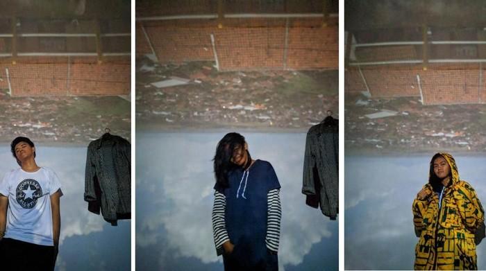 Hasil foto menggunakan konsep kamera obscura sebagai latar belakang. Foto: dok. Arie Haryana
