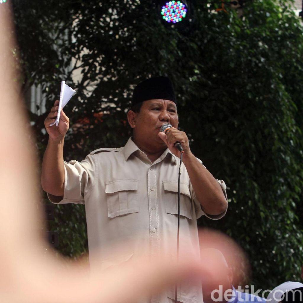 Prabowo Kumpulkan Dewan Pembina Gerindra di Hambalang Pagi Ini