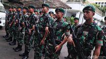 Bawa Senjata Laras Panjang, TNI Jaga Ketat KPU
