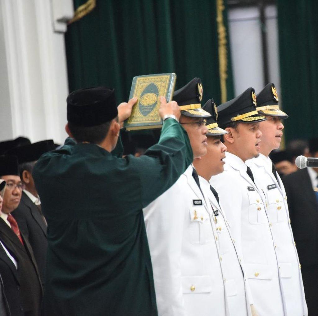 Akhirnya Ridwan Kamil Melantik Walkot Bogor dan Bupati Ciamis