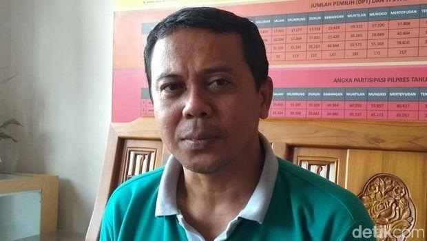 Anggota Komisioner KPU Kabupaten Magelang Dwi Endis M.