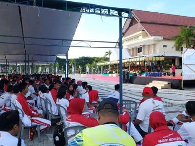 Pelancong Rela Tempuh 60 Km Demi Festival Teluk Tomini