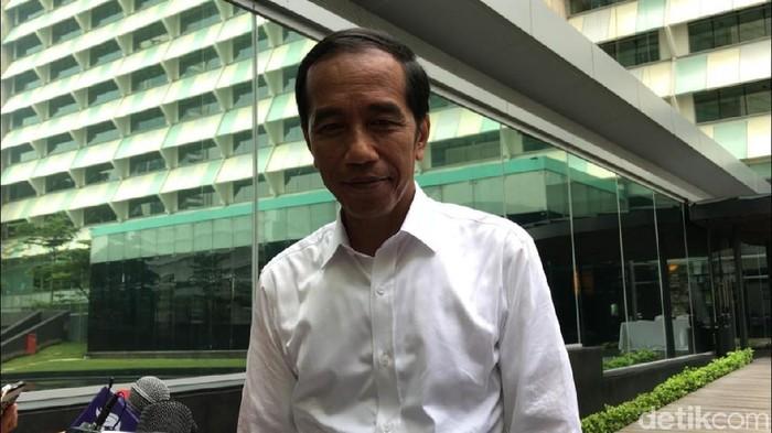 Foto: Presiden Jokowi. (Matius Alfons/detikcom)
