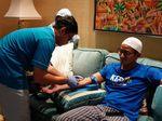 Sandiaga Kembali Periksa Kesehatan, Sampel Darah dan Urine Diambil