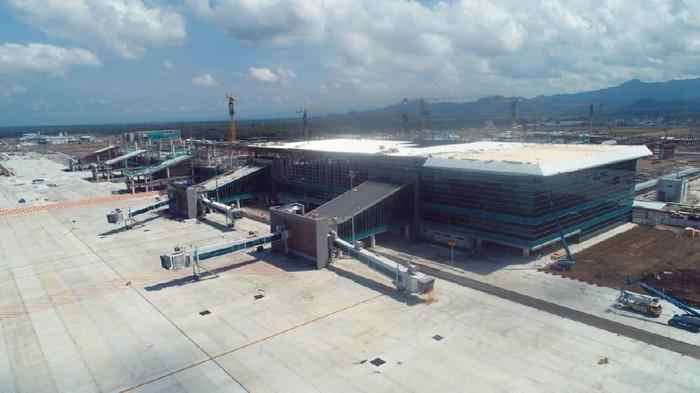 Penampakan terkini Bandara Kulon Progo di Yogyakarta