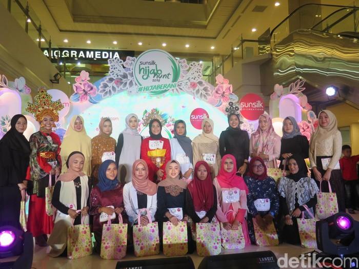 Audisi Sunsilk Hijab Hunt 2019 di Medan. Foto: Kiki Oktaviani/Detikcom