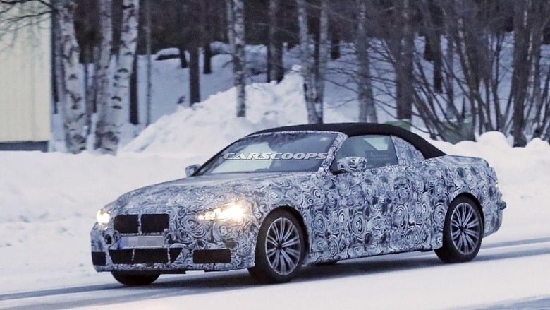 BMW Seri 4 Convertible Foto: Pool (carscoops)