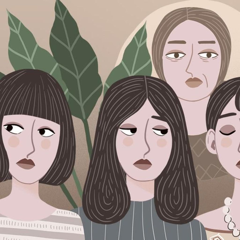 Empat Anak Perempuan dan Ibunya