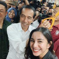 Usai Sambangi GI, Jokowi Pulang ke Bogor dengan MRT Jakarta