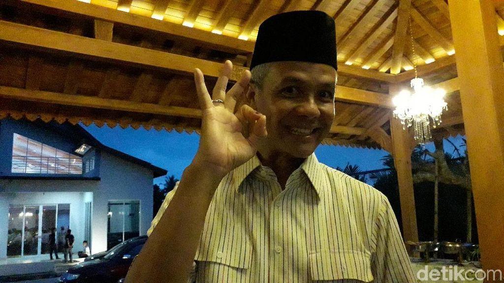 Dinginkan Tensi Politik, Ganjar Dorong Jokowi dan Prabowo Bertemu