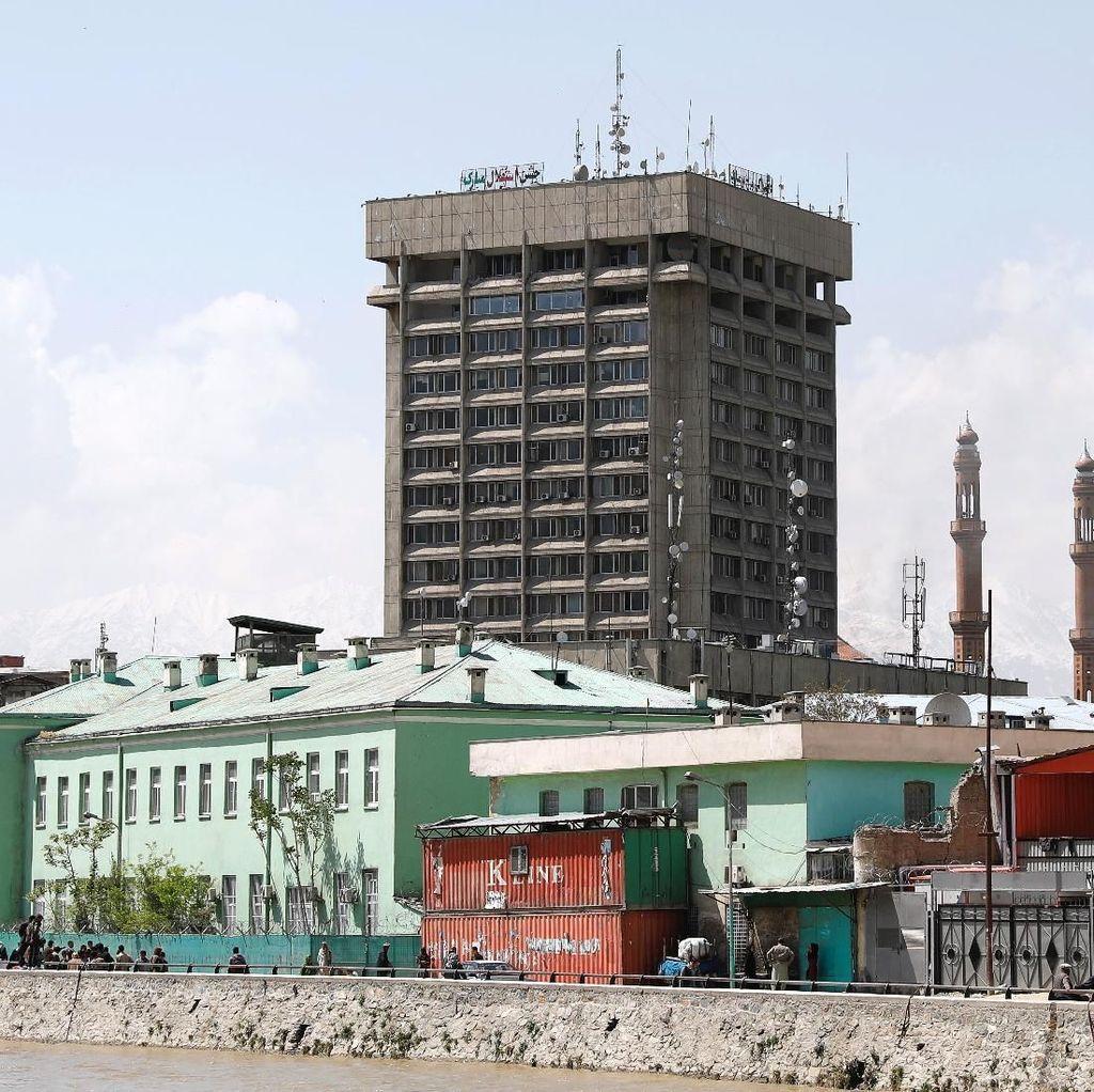 Kementerian Komunikasi Afghanistan Diserang Kelompok Bersenjata