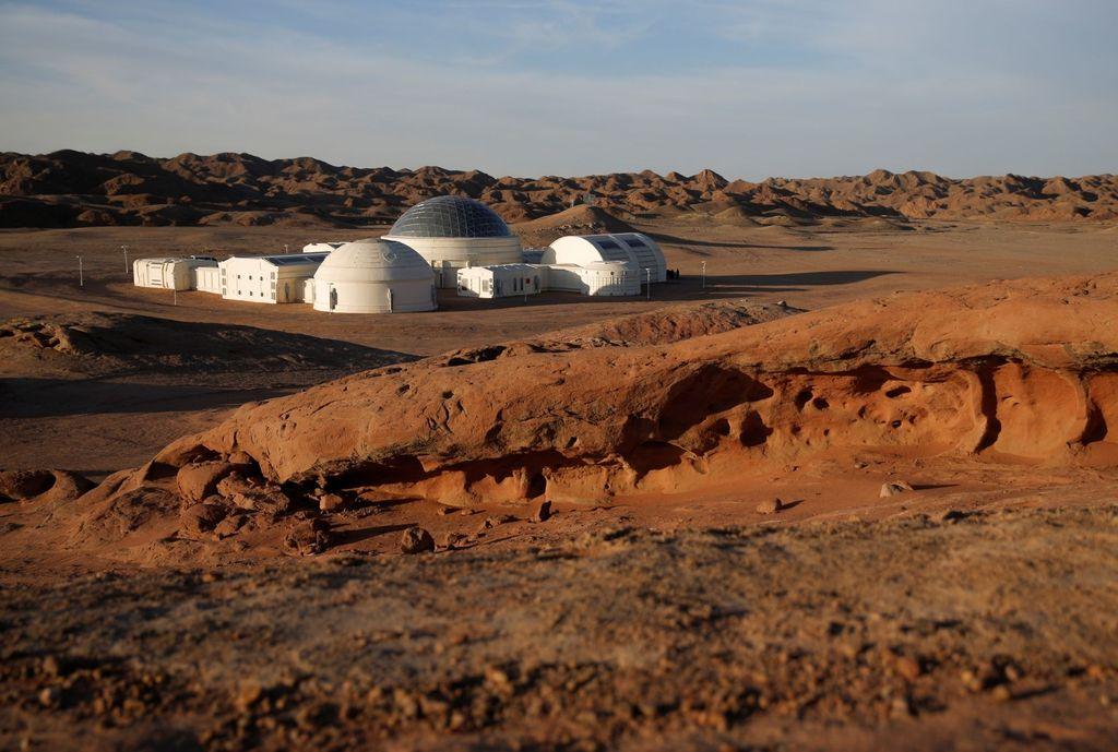Begini bentuk pemukiman tersebut. Foto: Reuters