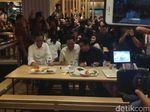 Isi Akhir Pekan, Jokowi Ajak Erick Thohir Makan Siang di Grand Indonesia