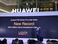 Di Pasar Indonesia, Huawei: P30 Lebih Laku dari P20