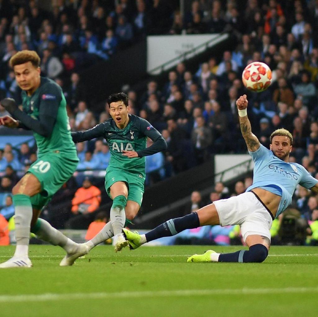 Jadwal Siaran Langsung Manchester City vs Tottenham Malam Ini