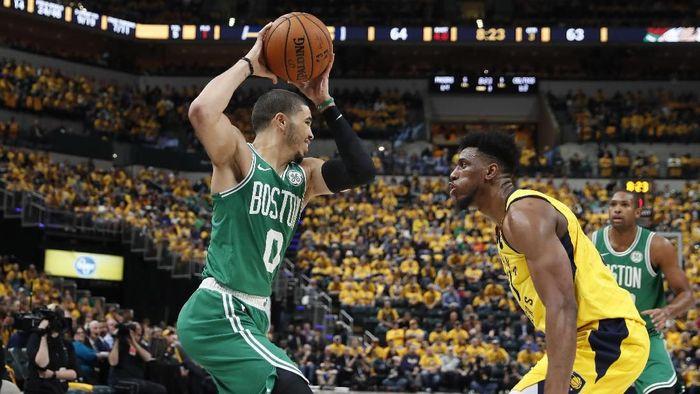 Boston Celtics kalahkan Indiana Pacers di gim ketiga Playoff (Brian Spurlock-USA TODAY Sports)