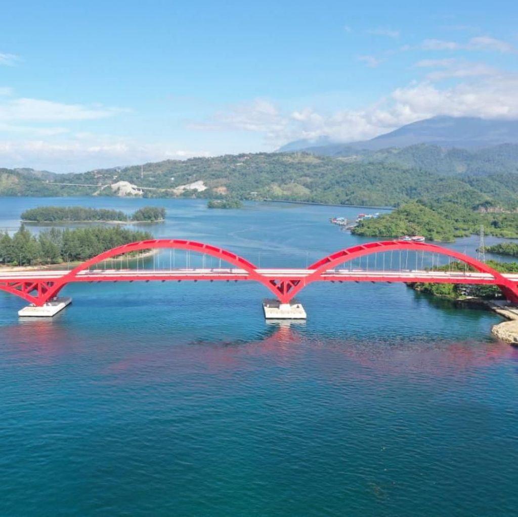 Diresmikan Juli, Begini Megahnya Jembatan Holtekamp Papua