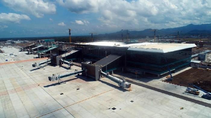 Progres pembangunan Bandara Kulon Progo atau Bandara Internasional Yogyakarta hampir tuntas 100%. Yuk, Intip penampakan terkini Bandara Kulon Progo.