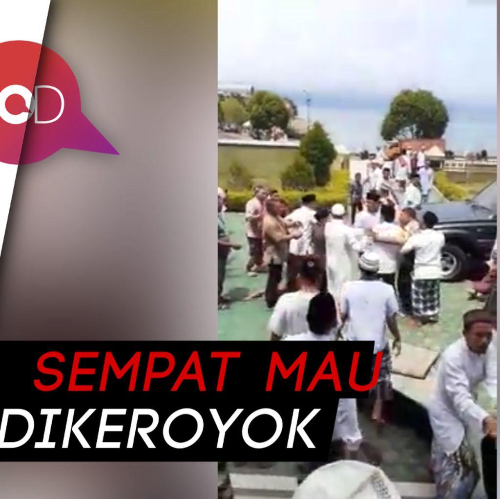 Video Jemaah Kembalikan Karpet Masjid Gara-gara Caleg Nyinyir