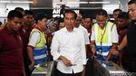 Momen Jokowi Naik MRT di Akhir Pekan