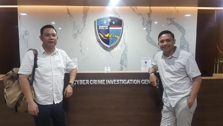 Banteng Muda Laporkan Hoax Mega Akui Prabowo Menang ke Polri