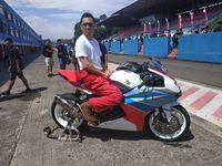 Omesh di Indonesia CBR Race Day 2019.