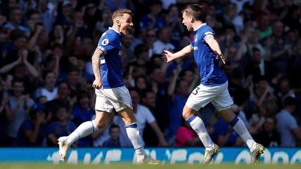 Everton tampil impresif di sepanjang laga lawan Manchester United.