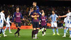 Hasil Liga Spanyol: Barcelona Atasi Perlawanan Sociedad 2-1