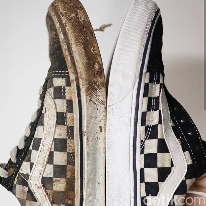 Foto: Sulap Sepatu Kotor jadi Kinclong (Istimewa/Shoes and Care)