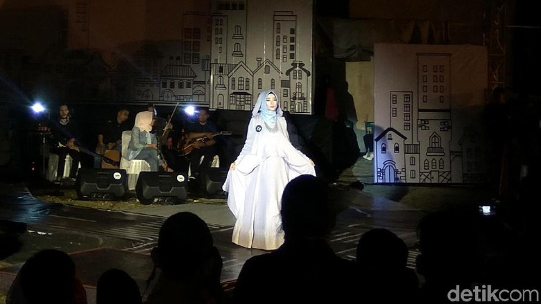 Fashion show IFF 2019 dan cantiknya Inong Aceh (Agus Setyadi/detikcom)