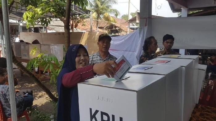 Suasana pencoblosan pada Pemilu 2019 lalu. (Foto: Bahtiar Rifai/detikcom)