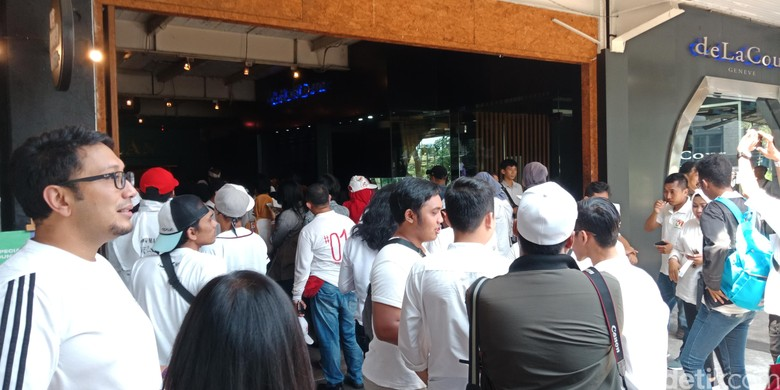 Relawan Milenial Jokowi-Maruf Gelar Syukuran di The Pallas SCBD