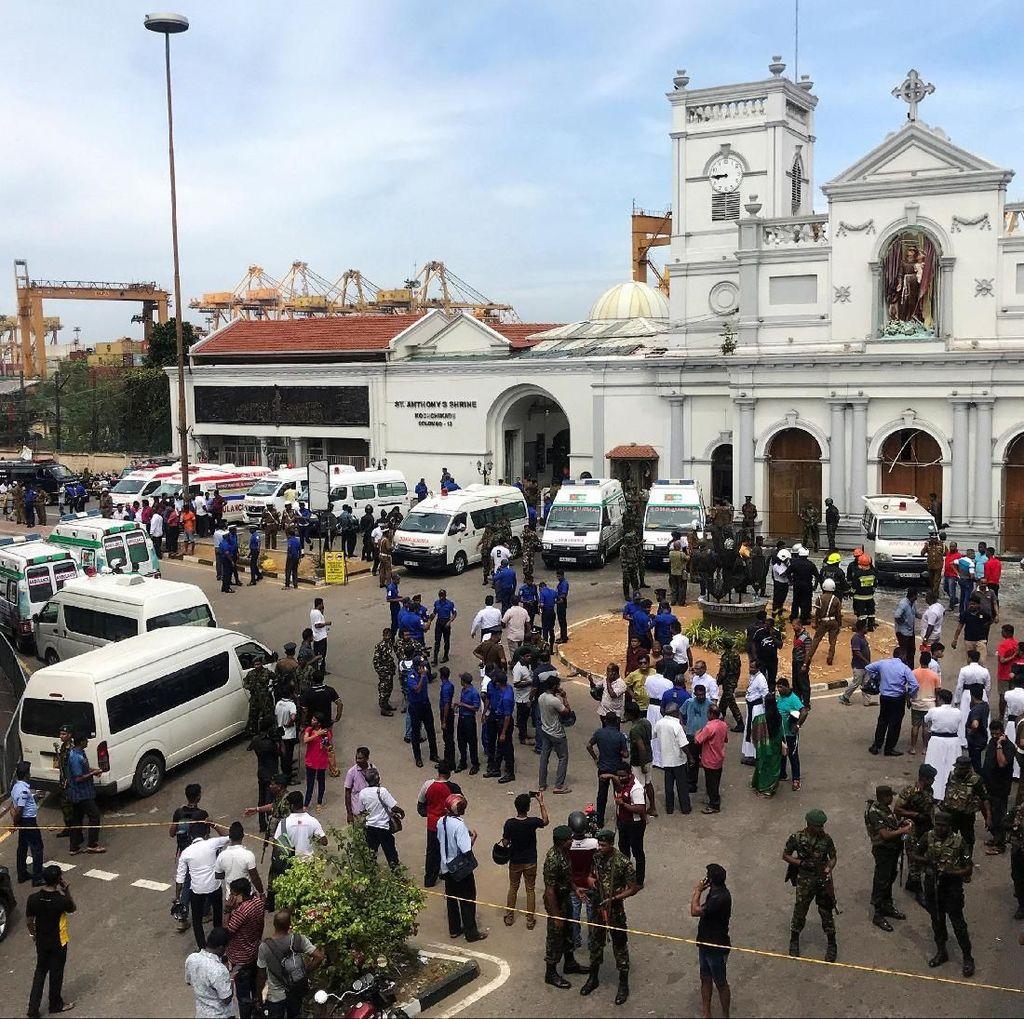 Sudah 359 Orang Tewas Akibat Rentetan Ledakan Bom Paskah di Sri Lanka