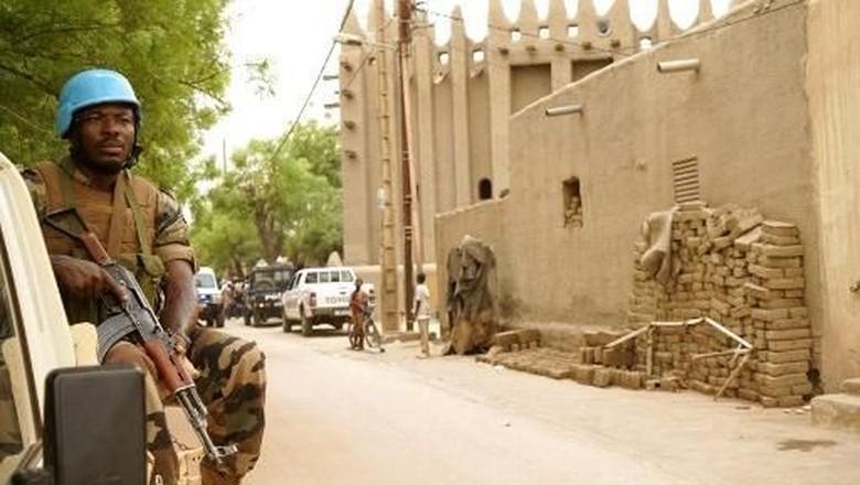 Ilustrasi Mali yang memuncaki daftar negara destinasi paling berbahaya dikunjungi turis. (Foto: Sebastien Rieussec / AFP)