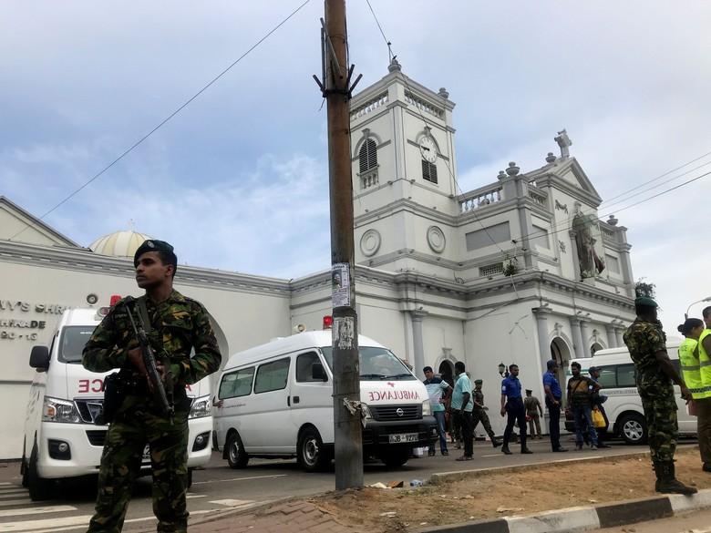 Ada 6 Ledakan di Gereja dan Hotel di Sri Lanka, 80 Orang Dirawat di RS