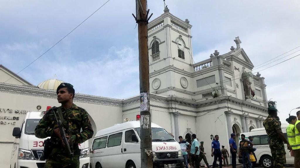 2 Gereja dan 2 Hotel di Sri Lanka Dibom Saat PerayaanPaskah