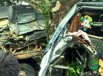 Bus Tabrak Pohon di Sukabumi, Saksi: Sebelum Insiden Sopir Diganti