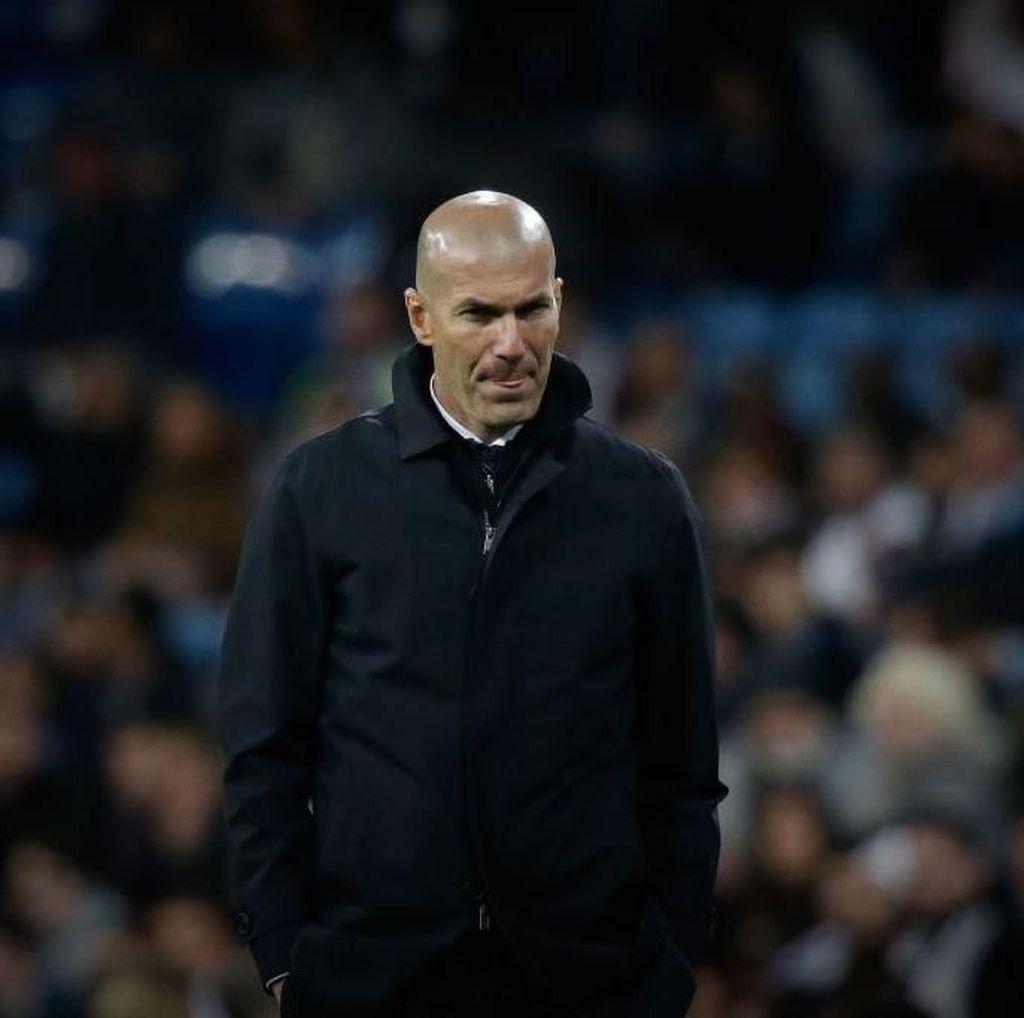 Zidane Puas dengan Permainan Madrid, tapi Tidak Hasil Akhirnya