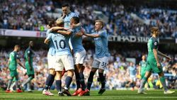 Bungkam Tottenham, Man City Ukir Rekor Kandang